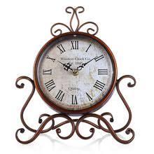 Wrought Iron Home Decor Popular Wrought Iron Table Clock Buy Cheap Wrought Iron Table