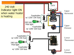 electric water heater thermostat wiring diagram how to wire at