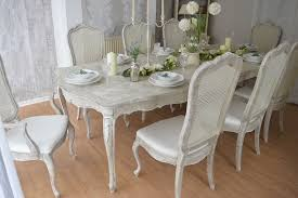 Shabby Chic Chair Pads by Fascinating Shabby Chic Dining Table And Chairs Set 18 In Chair