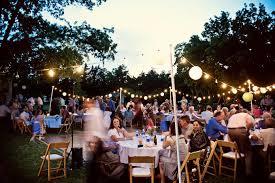 Backyard Wedding Reception Ideas Backyard Wedding Engagement Dinner Ideas Weddingbee