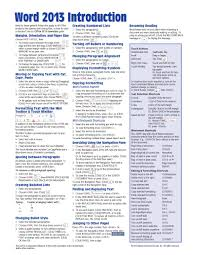Microsoft Word 2010 Resume Template Resume Template Quick Reference Guide Word Within 93 Appealing