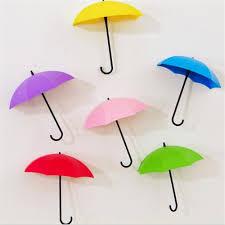 online shop 3pcs lot umbrella shape cute self adhesive wall door