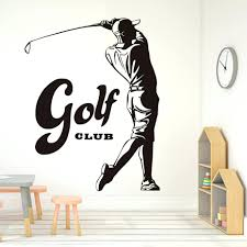 wall ideas golf wall decor small golf wall decor golf themed metal golf wall decor sports game golf waterproof wall stickers for bedroom vintage golf player pattern vinyl art wall decals home decor wallpaper golf club