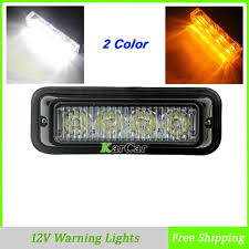 warning lights for sale sale 4 led truck warning lights auto car strobe emergency beacon