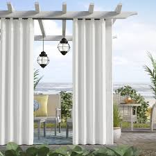 Outdoor Curtains With Grommets Outdoor Curtains You U0027ll Love Wayfair