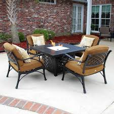 Patio Table With Firepit by 118 Best Patio Furniture Images On Pinterest Paths Patio Dining