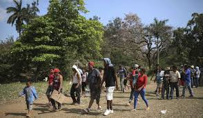 by linking trump with hate groups clinton spotlights the group running asylum caravan fears spotlight comes at a cost