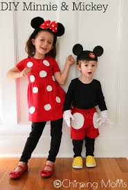 mickey mouse toddler costume diy mickey and minnie costumes for all sizes