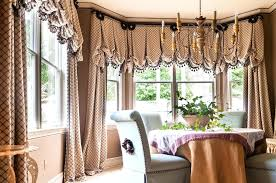 Dining Room Valance Curtains Yellow Dining Room Curtains Dining Room Valance Curtain Detail