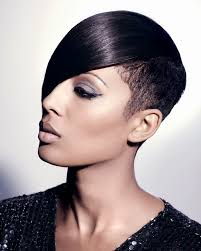 black tapered haircuts for women braided innovations fusion tapered hair extension haircut gallery