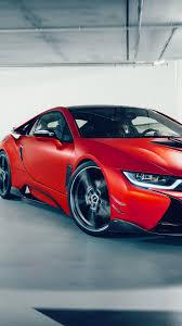 Bmw I8 Custom - download 1080x1920 bmw i8 custom design red supercar cars