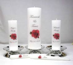 personalize candles memorial candles wedding unity candles personalized