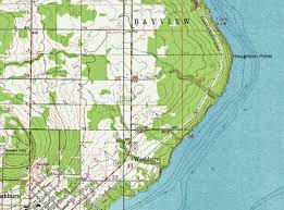 topo maps wisconsin my wisconsin space topographic map