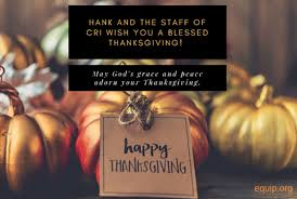 special thanksgiving day broadcast christian research institute