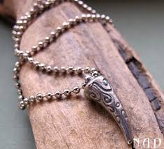 man accessories necklace images Tooth pendant necklace for men silver jewelry men 39 s neck jpg
