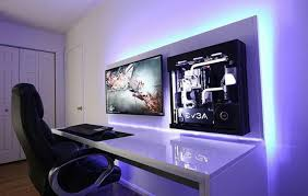 Home Office Gaming Setup Pin By Ludwig Jimenez On Home Office Pinterest Gaming Setup