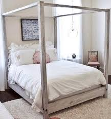 Wood Canopy Bed Architecture Wood Canopy Bed Telano Info