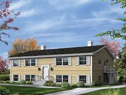 split level house designs wayland split level fourplex plan 008d 0113 house plans and more