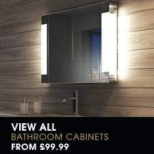 Bathroom Cabinet With Light Bathroom Mirror Cabinets Light Demister Led Illuminated