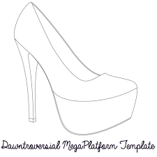outline of shoe free download clip art free clip art on