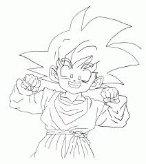wallpapers goten and trunks coloring pages dragon ball z gotenks