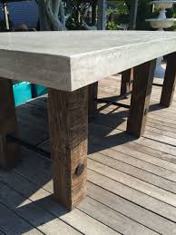 concrete dining table interesting ideas concrete outdoor dining