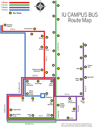Map A Route by Schedules Campus Bus Service