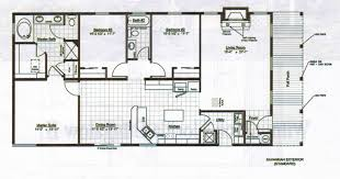 ranch house floor plans open plan house plan majestic ranch homes free house plan examples bedroom