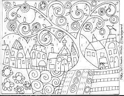 owl celtic mosaic coloring book pages free printable mosaic