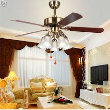 52 inch ceiling fan with light continental retro dining room den bedroom ceiling fan light 52 inch
