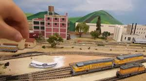 union pacific santa fe railway n scale layout update july 2016