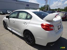 2016 Crystal White Pearl Subaru Wrx Sti 105750374 Photo 6