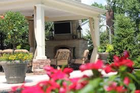 Outdoor Entertainment Center - outdoor structures pergolas u0026 pavilions poynter landscape