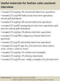 Retail Sales Assistant Resume Sample by Top 8 Fashion Sales Assistant Resume Samples
