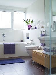 25 killer small bathroom design tips small bathroom with purple accents