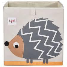 aufbewahrungsbox kinderzimmer 3 sprouts aufbewahrungsbox für kinderzimmer igel