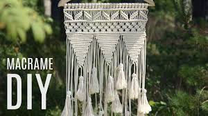 diy macramé wall hanging easy tutorial by macrame home
