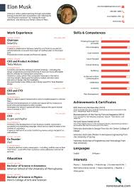 Impressive One Page Resume Template For One Page Resume