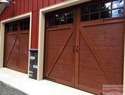 Kalamazoo Overhead Door Angled Garage Door Track David Batty The Garage