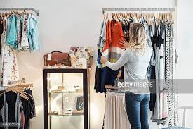 Garment Shop Interior Design Ideas Clothing Store Stock Photos And Pictures Getty Images