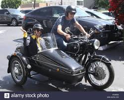 bmw motorcycle 2016 selma blair takes a ride in a sidecar of a vintage bmw motorcycle