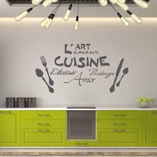 amour et cuisine sticker citation l l amour de la cuisine stickers