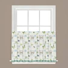 24 Inch Kitchen Curtains Buy Butterfly Kitchen Curtains From Bed Bath Beyond