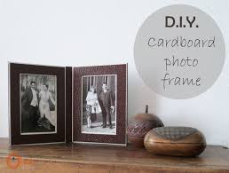 Home Decor Photo Frames Diy Cardboard Photo Frame Ohoh Blog