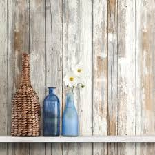 Peel And Stick Wallpaper by Distressed Barnwood Plank Wood Peel And Stick Wallpaper U2013 D Marie