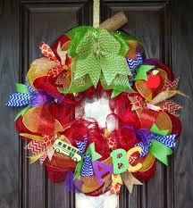 91 best wreath images on school wreaths