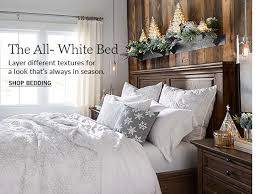 All White Bed Sheet Sets U0026 Bedding Sheets Pottery Barn