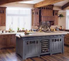 kitchens with different colored islands kitchen cabinet color accents