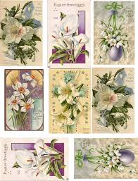 decoupage paper collage sheets easter