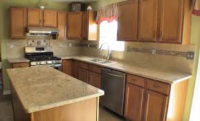 granite countertop kitchen cabinets buffalo installing glass and